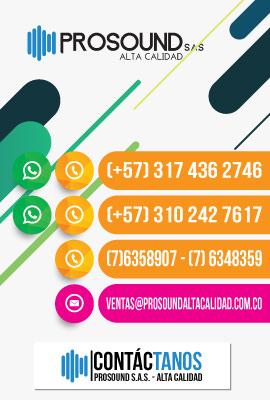 PROSOUND S.A.S. - Alta Calidad / Contacto