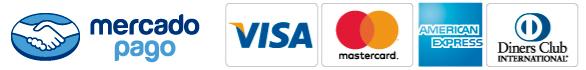 MercadoPago - VISA - MASTERCARD - DINNERS - AMEX