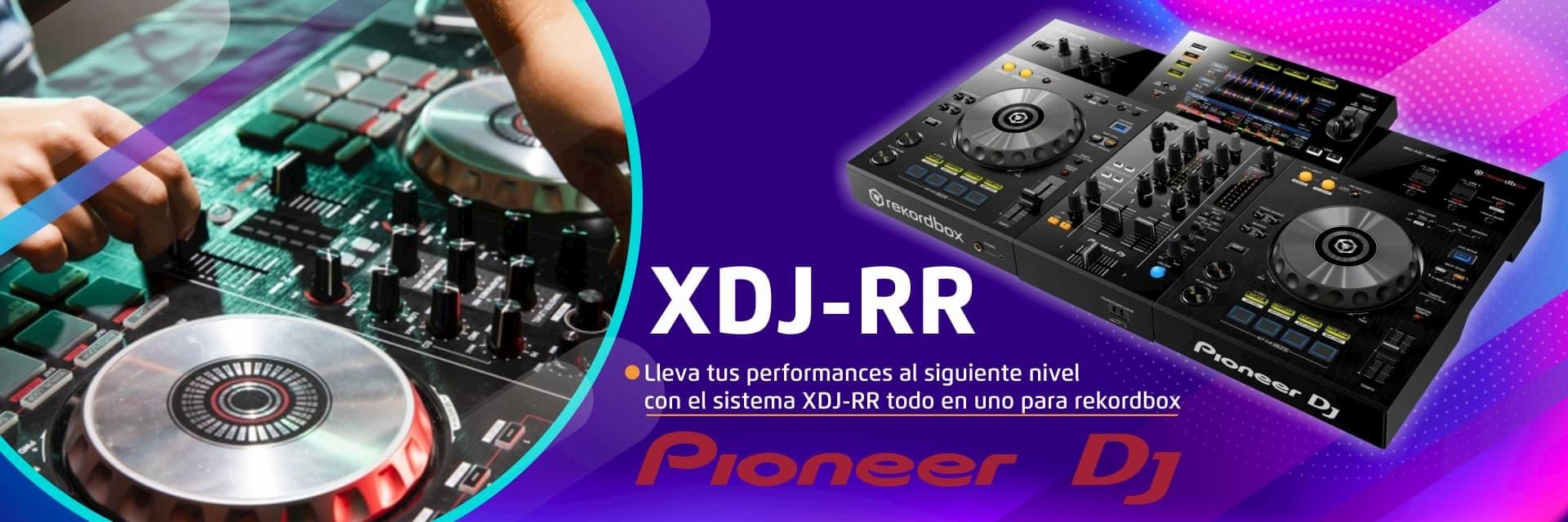 Lleva tus performances al siguiente nivel con el sistema XDJ-RR todo en uno para rokordbox