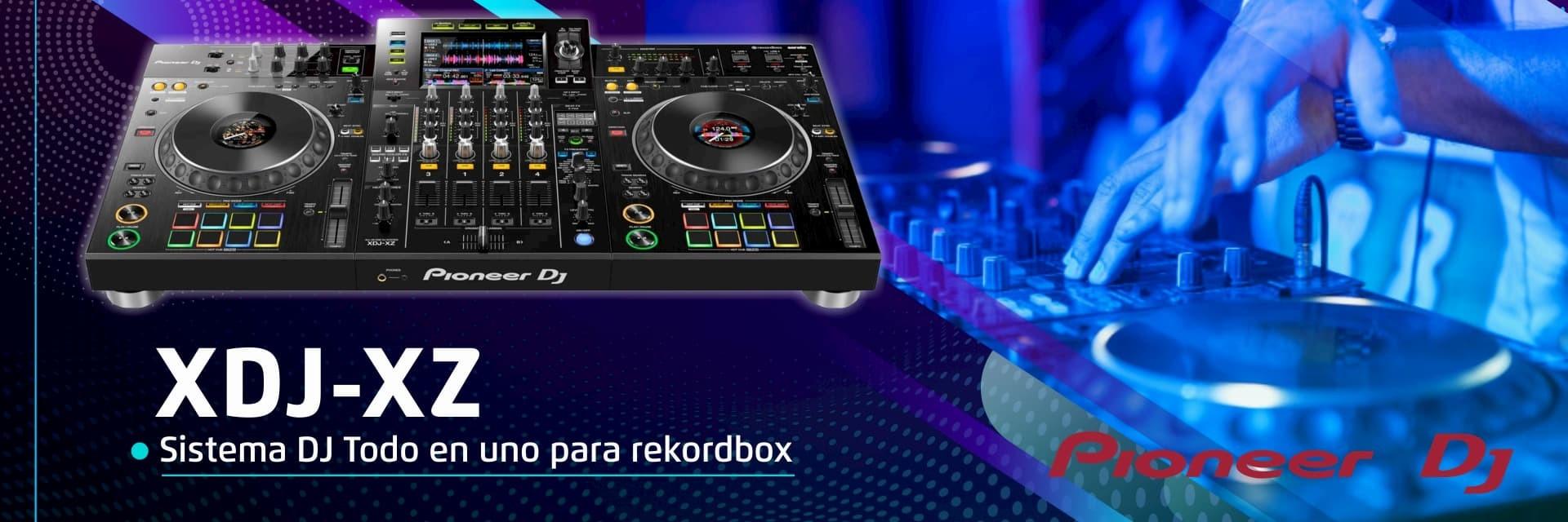 Sistema DJ todo en una para rokordbox
